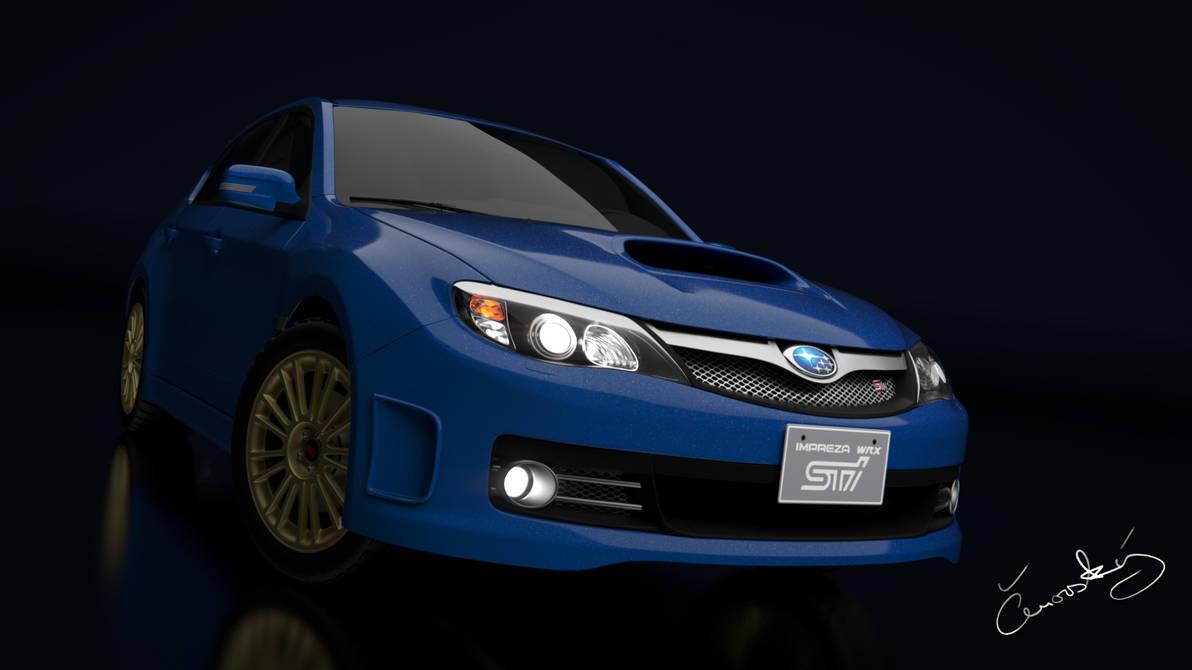 Subaru Impreza WRX STI 2008 by LubomirCenovsky