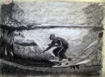 Surfing in the Tube of charcoal by SurfTiki