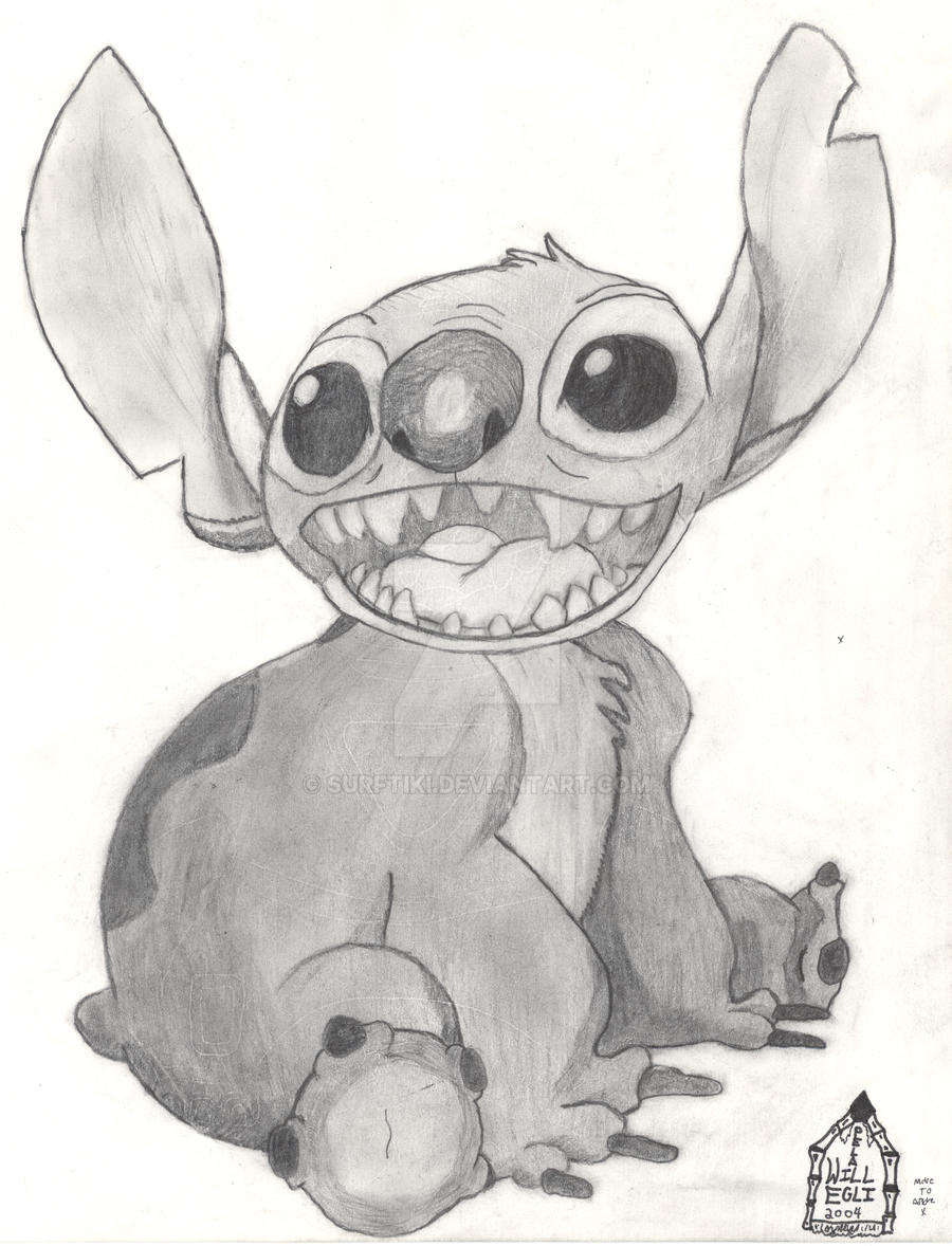 Drawings of Lilo And Stitch Lilo And Stitch Drawing
