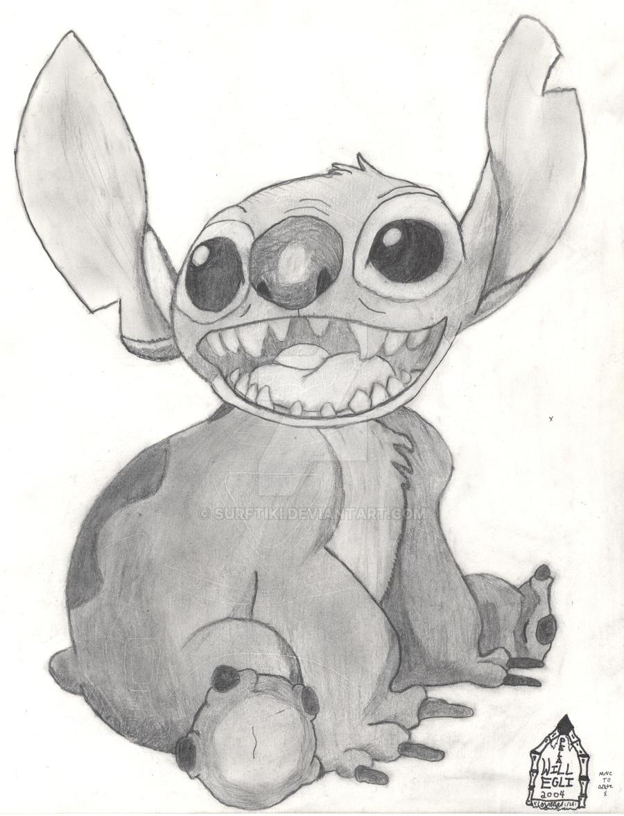 Uncategorized Drawing Lilo And Stitch lilo and stitch drawing 2004 by surftiki on deviantart surftiki