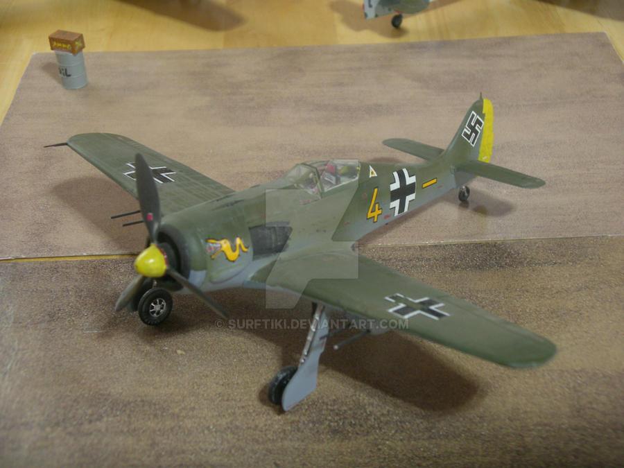 FW 190A-8 R1 Focke-Wulk by SurfTiki