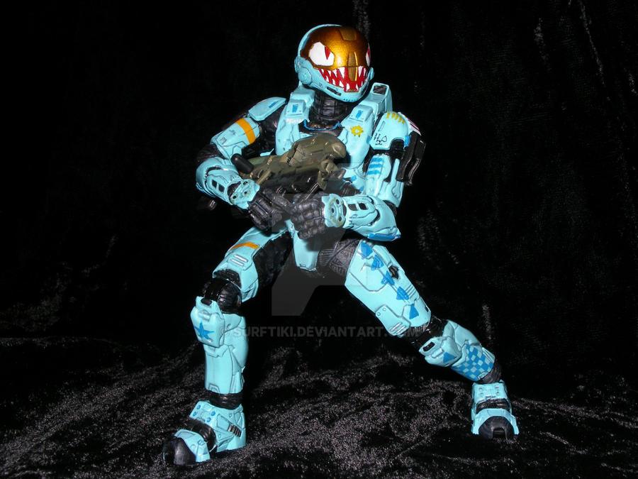 Halo EVA - Action Pose by SurfTiki