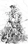 Army of Darkness Pin Up Inked - Bradshaw - Egli