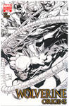 Wolverine Origin 7 Inked Cover