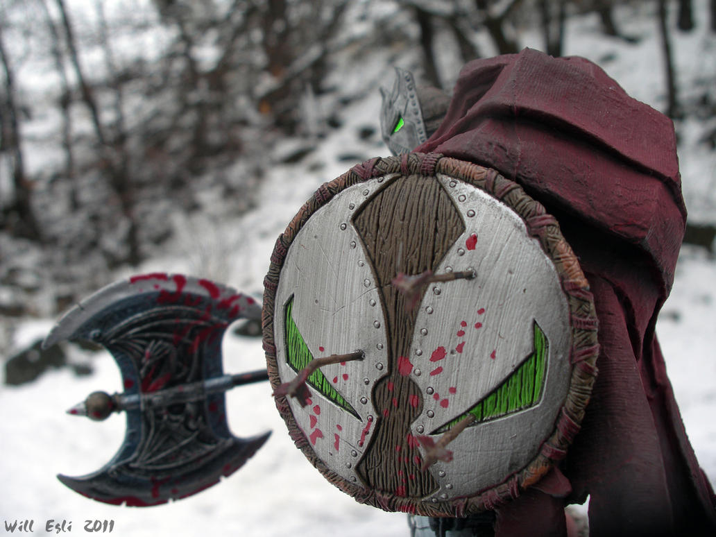 Medieval Spawn shield - Snowy by SurfTiki on DeviantArt