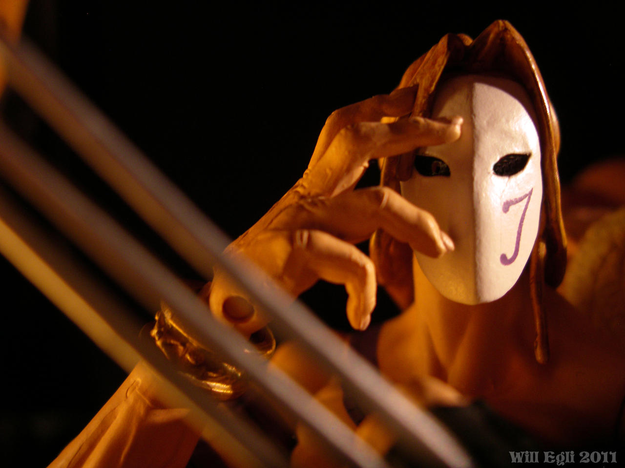 Vega's mask - Mind reading by SurfTiki