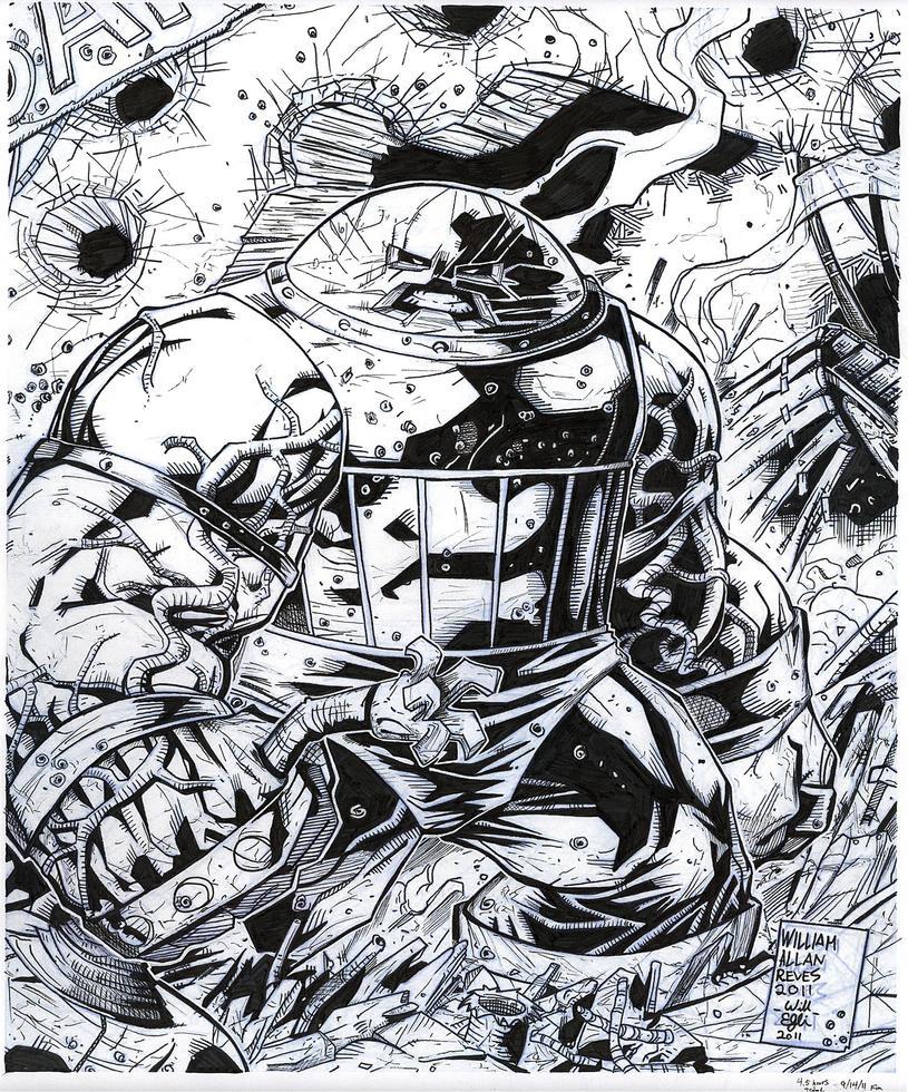 Juggernaut Inks - WAR - Egli by SurfTiki