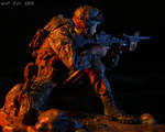 Army Ranger on the hunt