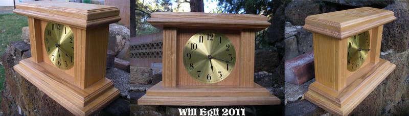 Wood Clock Highschool Project By Surftiki On Deviantart