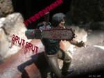 Ash on the offensive - Die Deadites Die by SurfTiki