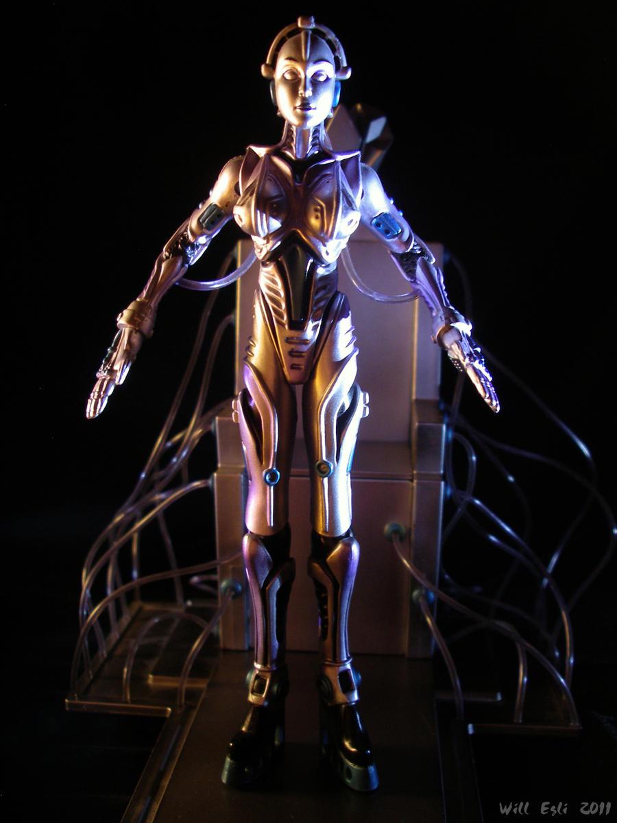 The Robot Awakes - Metropolis by SurfTiki