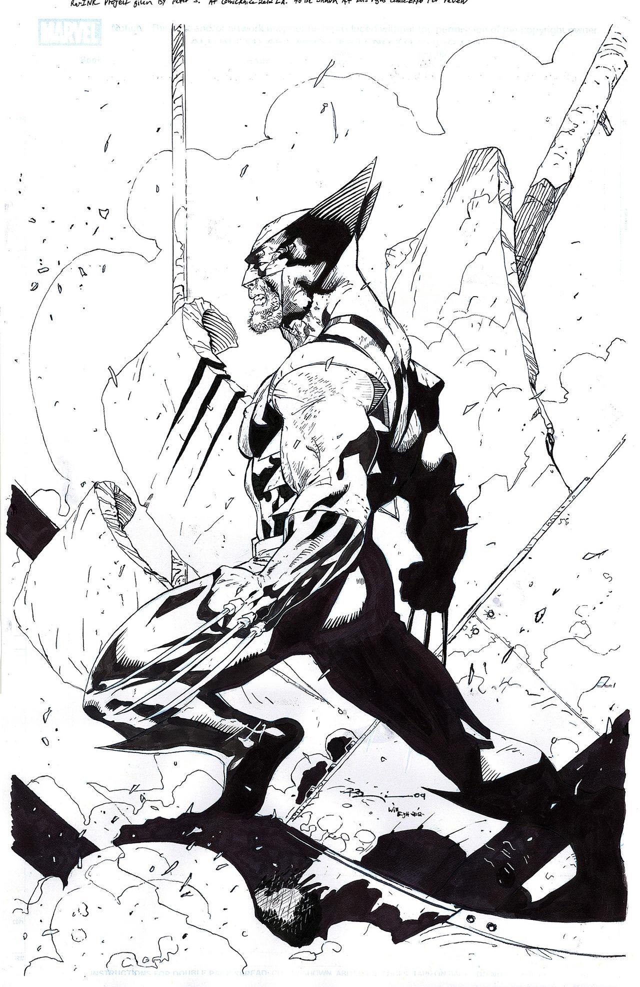 Wolverine Re-Ink take 2 - Benjamin - Egli by SurfTiki