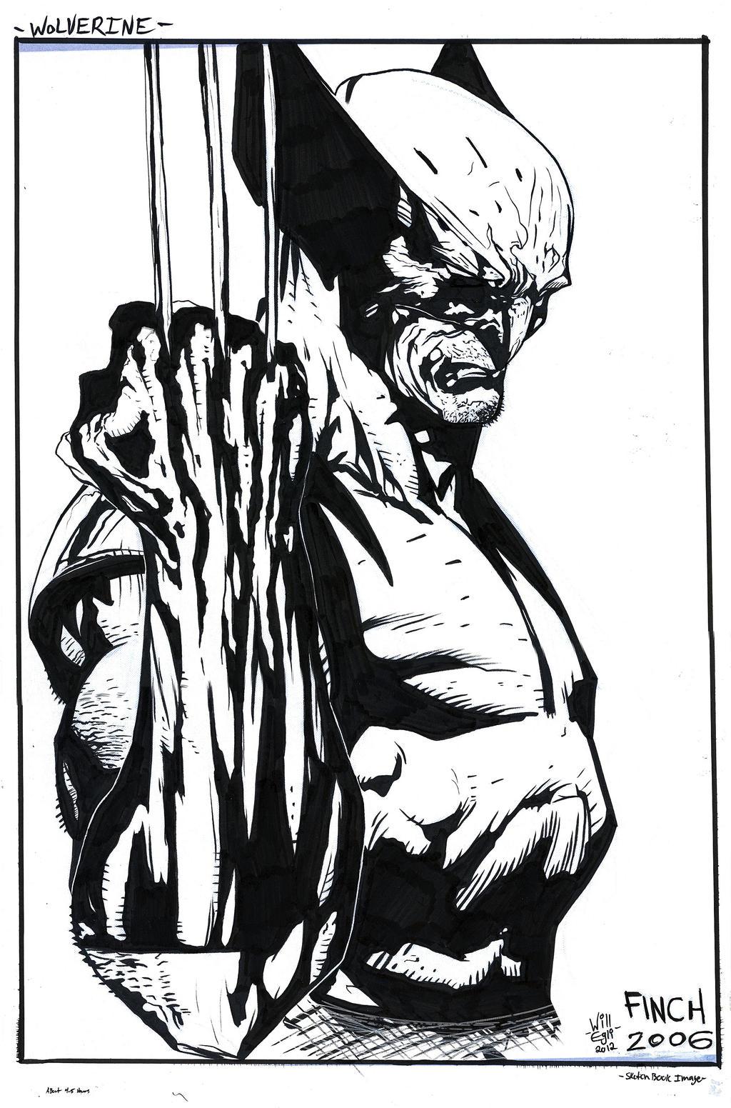 Wolverine - Finch - Egli - Inks by SurfTiki
