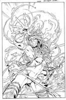 Grimm Fairy Tales Cover 48A - Debalfo - Egli - Ink by SurfTiki