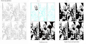 Marvel Page - Djurdjevic - Egli - Inks