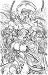 Jirni #3 Cover - Pant - Egli - Freeman - Inks