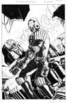 Judge Dredd VS. Megatron - ACE - Egli - Inks