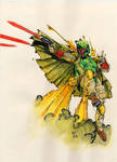 Boba Fett Unleashed - Lashley - Egli - Watercolor