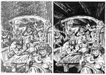 Conan page test - Buscema - Egli - Inks