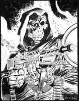Death G.I. Joe #43 Cover - Zeck - Egli - Inks by SurfTiki