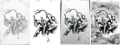 Judge Dredd Juxtapose - Lau - Egli - by SurfTiki