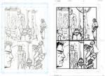 NOVA619 #30 Sunrise Page 5 - Miranda - Egli - Inks by SurfTiki