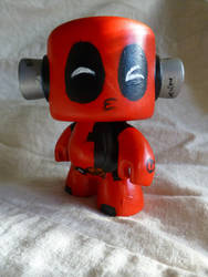 Deadpool rockin' out Vinyl - Egli
