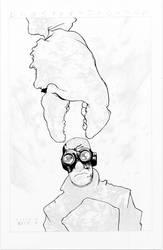 Lobster Johnson WIP - Black - Egli - Inks