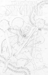 Dr. Strange Pencils - Sinnott - Egli -