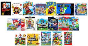 Super Mario Platformer History