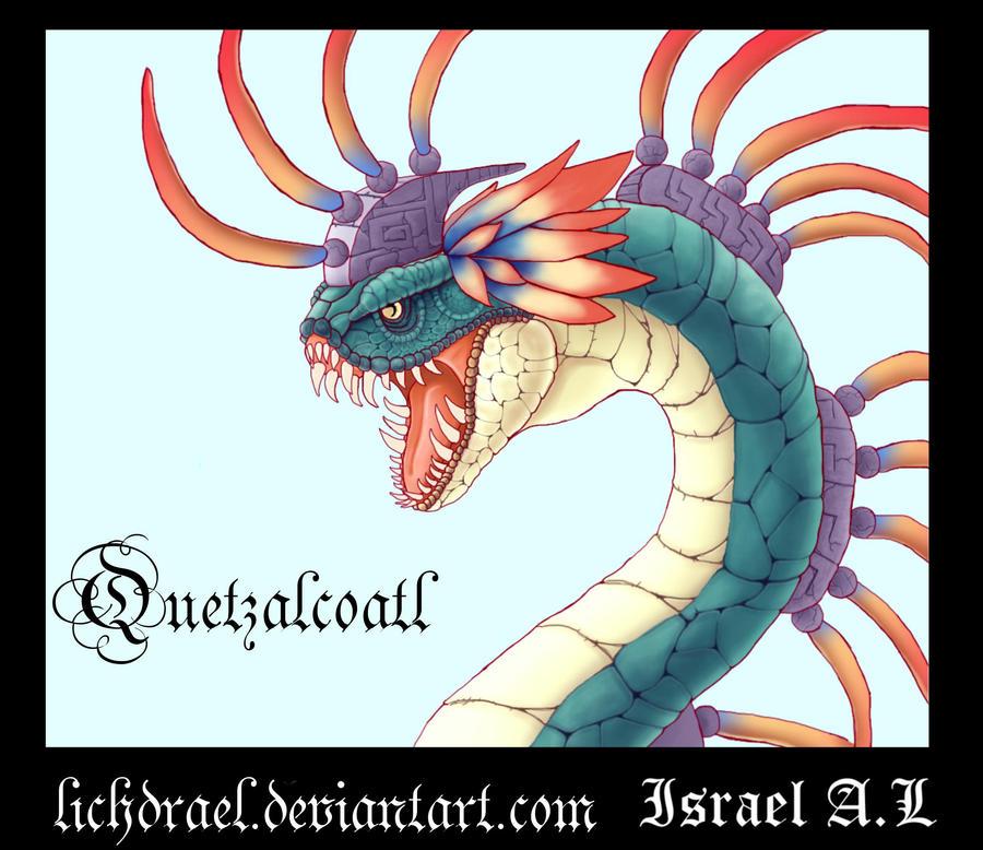 quetzalcoatl by lichdrael