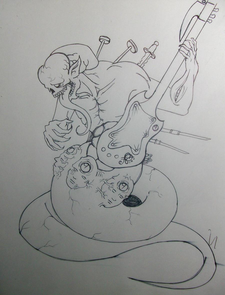 demonio 1 by lichdrael