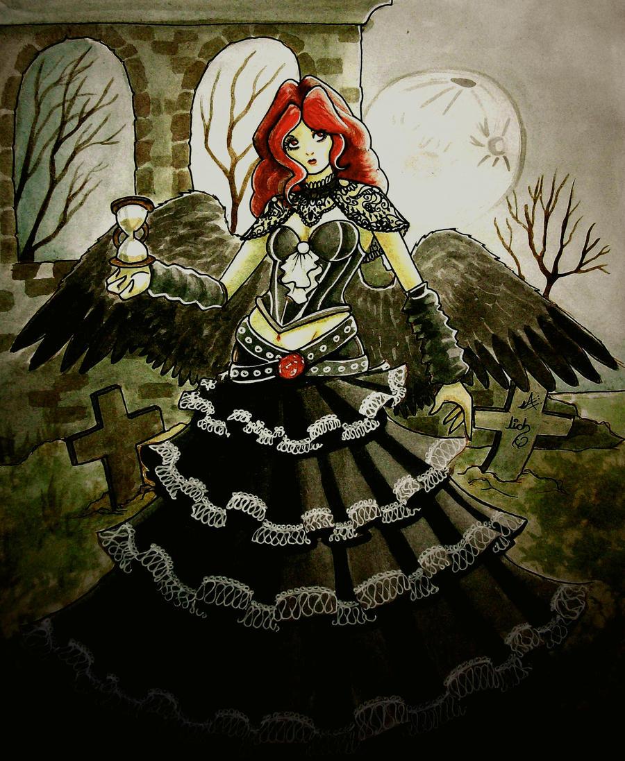 angel del tiempo eterno by lichdrael