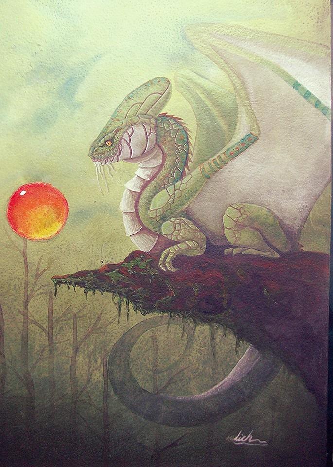 Alma del pantano y el espiritu de fuego by lichdrael