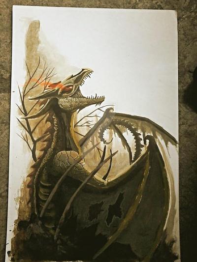 lich dragon by lichdrael