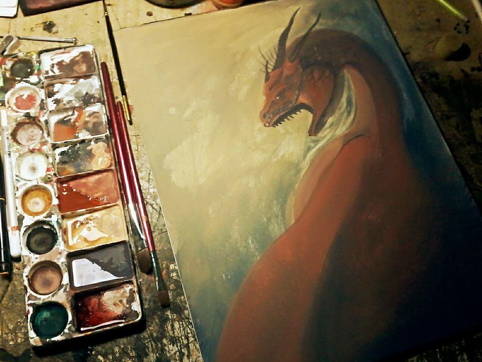Dragon by lichdrael