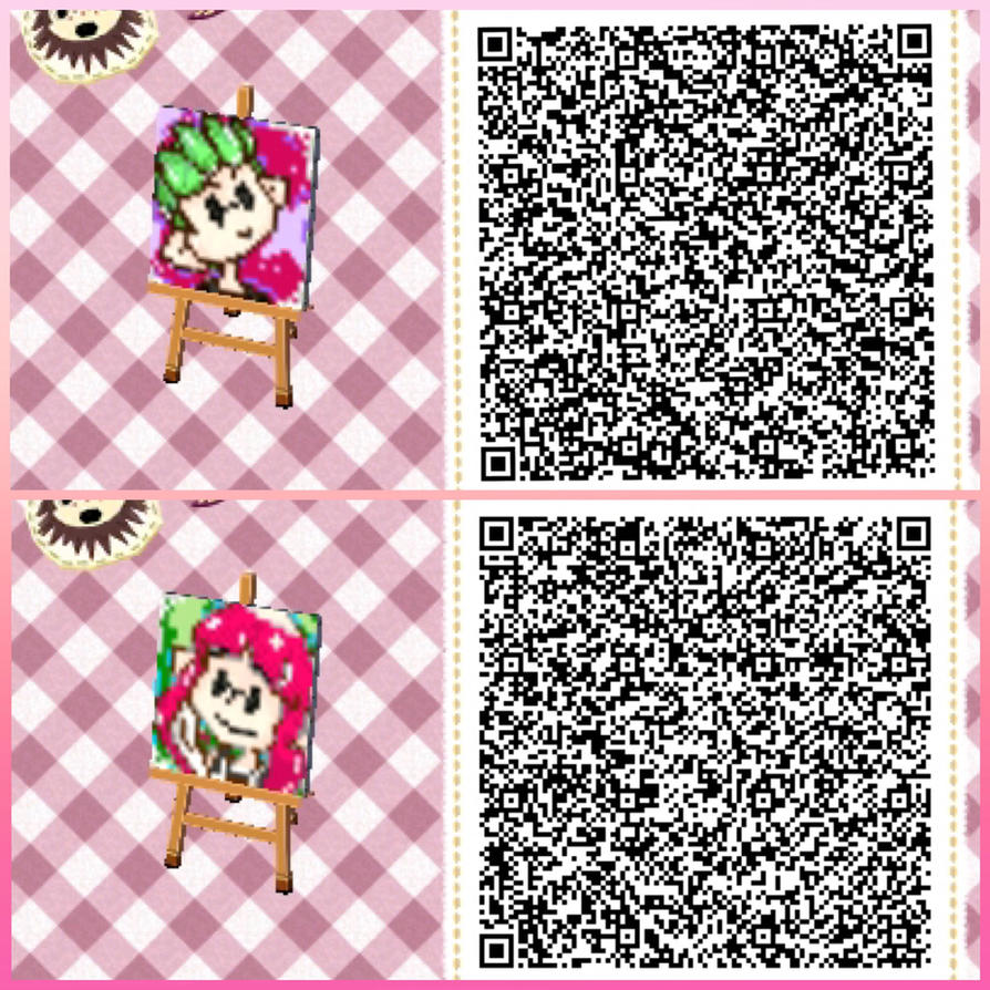 Splatoon 2 theme animal crossing new leaf qr code by for Boden qr codes animal crossing new leaf