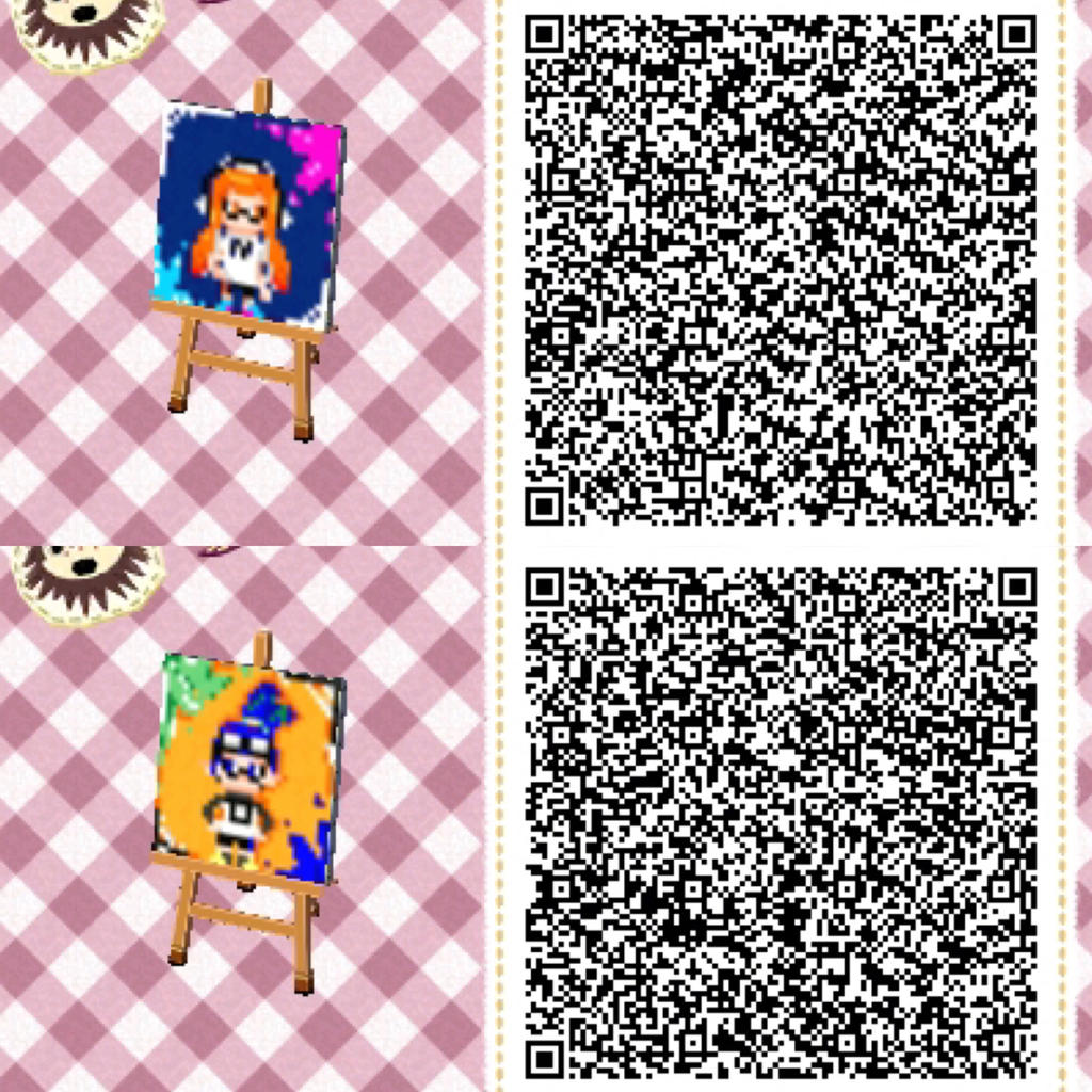 Pixel Squibs Animal Crossing New Leaf Qr Codes By Seedtrix