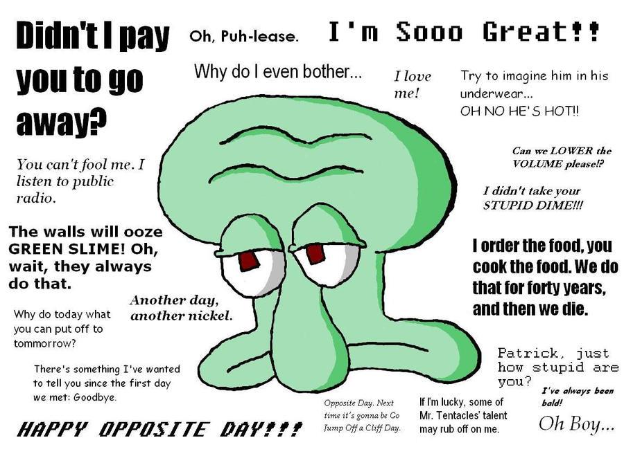 Quotes Spongebob Squidward. QuotesGram