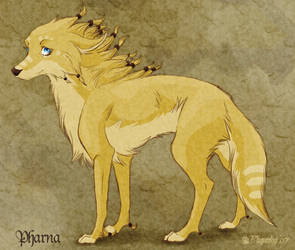 Pharna of the Red Paws by Plaguedog