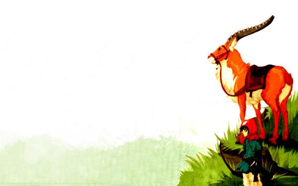 Yakul and Ashitaka Wallpaper by Plaguedog on DeviantArt