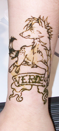 Verde Tattoo by Plaguedog