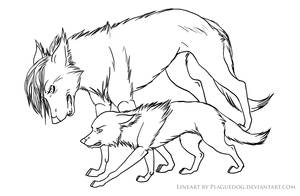 Lesson Lineart by Plaguedog