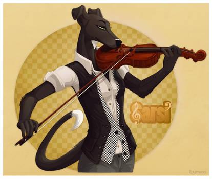 Sarsi Violin Badge