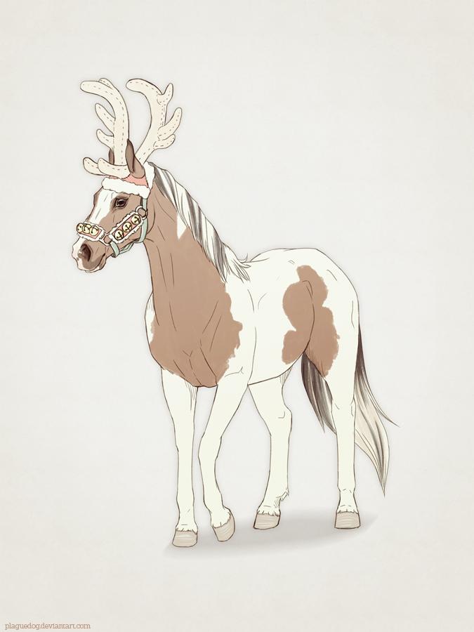 Reindeer Soldier by Plaguedog