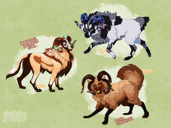 False Sheep Dog Adopts II