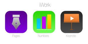 iOS 7 iWork icons redesign Concept