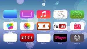 Apple TV redesign Concept iOs 7