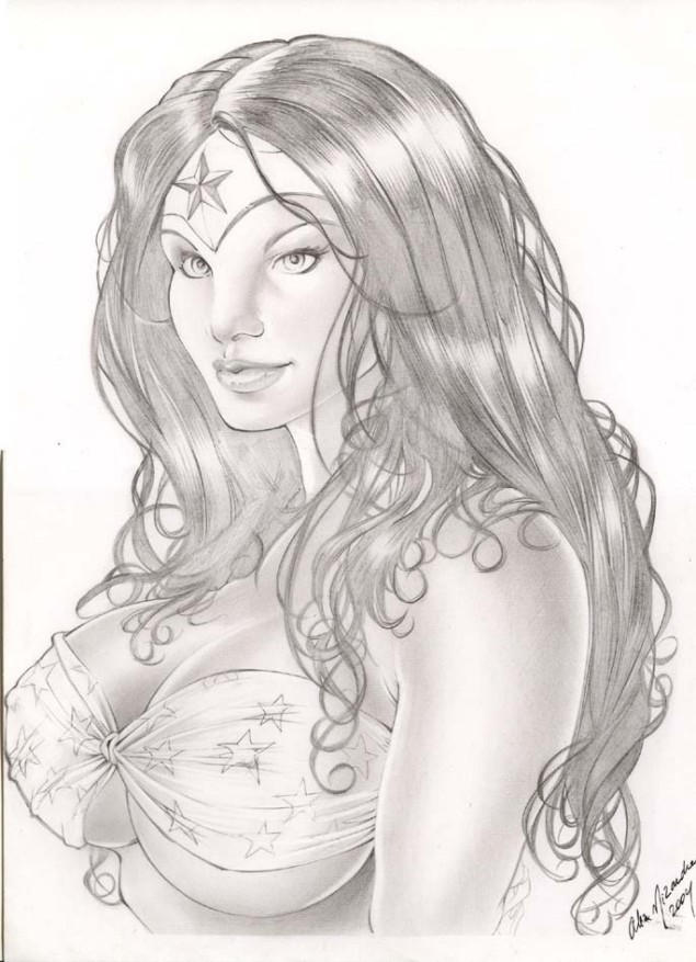 Wonder Woman by Alex Miranda by dagame2578