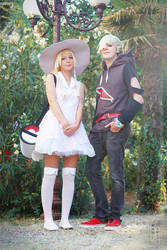 Lillie and Gladion ~ Pokemon Sun and Moon
